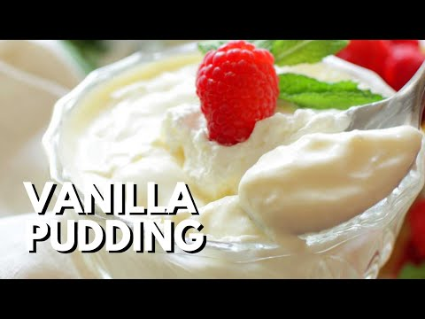 How to Make Vanilla Pudding For One