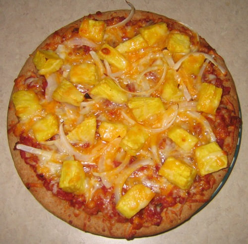 hawaiian pineapple pizza recipe