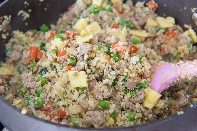 How to Make Easy Cauliflower Chicken Fried Rice